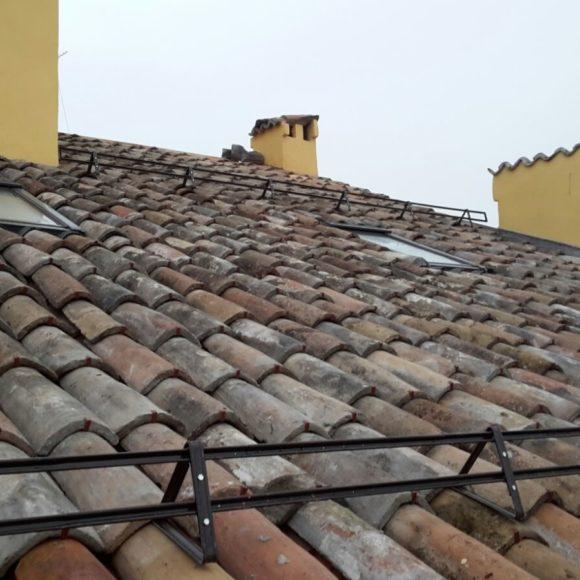 Ristrutturazione tetto e rinforzo strutturale